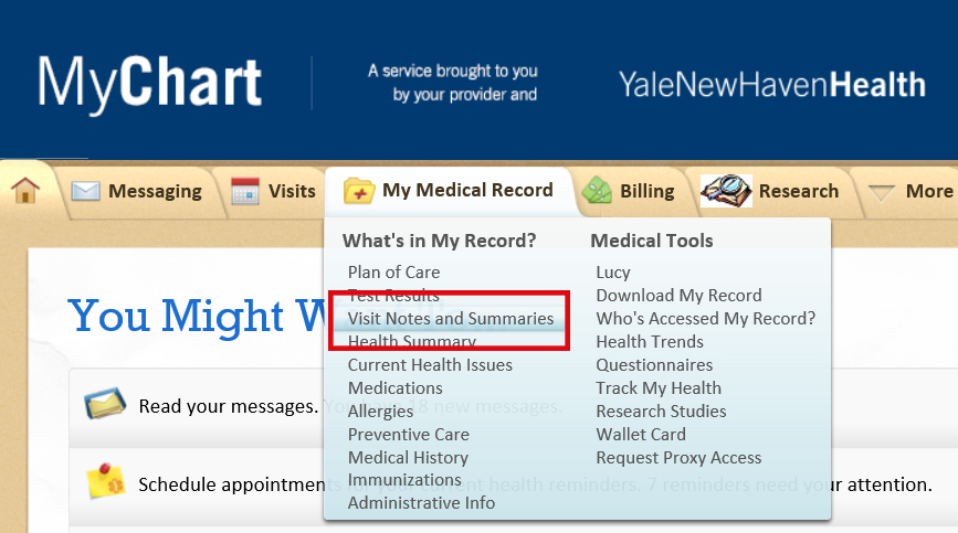 Myhealth Records Login