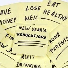 Stuicky notes: new year's resolution, eat healthy, lose weight